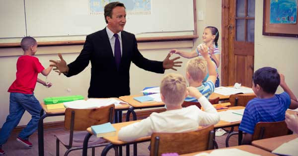 Cameron demob happy and lets ministers enjoy end of term fun day. Photo copyright Harry Metcalfe CC2