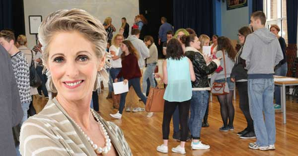 Smug mother of child genius spends day in school hall patronising other parents