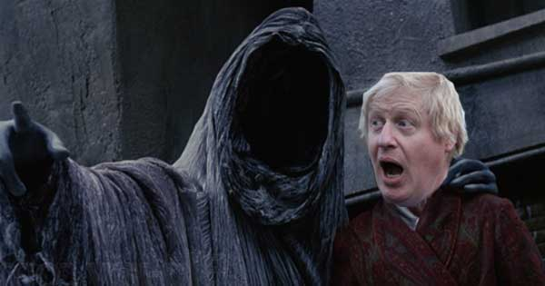 Boris Johnson haunted by ghost of Christmas Future over Brexit